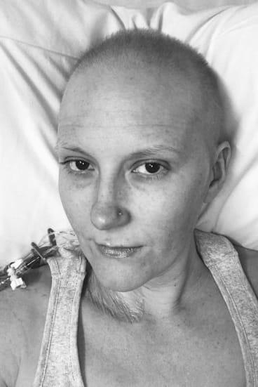 Caitlin Delaney has ovarian cancer but remains hopeful.