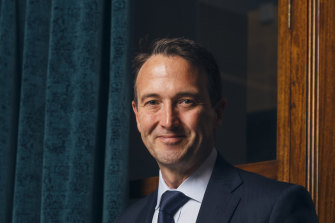 Challenger CEO Richard Howe said he does not watch daily share fluctuations as his stock fell by almost 15 per cent.
