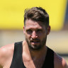 Lawyer says AFL hub dry spell led to Jesse Hogan's 'lapse in judgement'