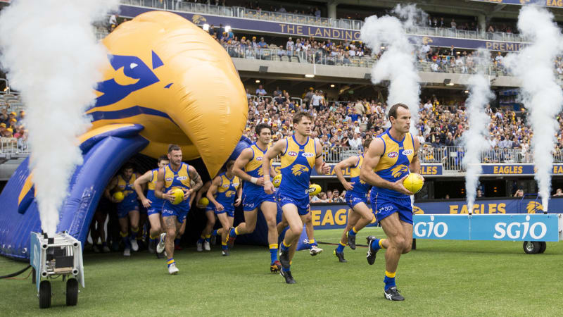 West Coast Ditch Tradition Of Players Running Through Team