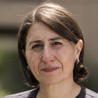 Gladys Berejiklian used to half-heartedly joke to her school friends that she wanted to go into politics.