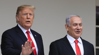 Trump's Middle East plan a 'booster shot' for Netanyahu