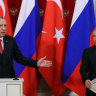 Putin, Erdogan meeting ends without Syria deal on Turkish 'safe zone'