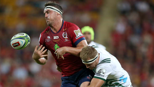 Time for Reds to get physical, says Queensland lock