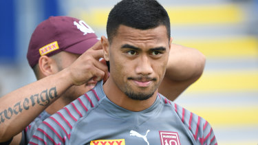Ronaldo Mulitalo has been ruled ineligible to make his State of Origin debut.