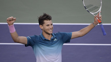 Austria's world No.4 Dominic Thiem believes a changing of the guard is coming.