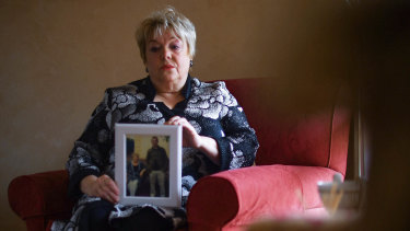 Margaret Daly, wife of John (Sean) Daly. Sean was housed and died at Allambee nursing centre.