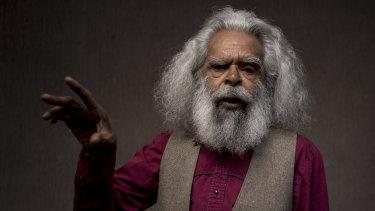 Aboriginal actor, activist and elder Uncle Jack Charles.