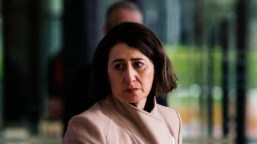NSW Premier Gladys Berejiklian said there was no definition of who is an essential worker.