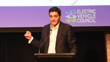 Electric Vehicle Council chief executive Behyad Jafari.