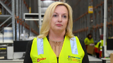 Australia Post CEO Christine Holgate was paid $2.5 million last year as the nation's highest earning civil servant.