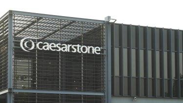 Caesarstone Australia's flagship showroom in Moorebank.