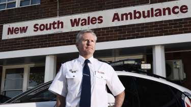 'We need people to call triple zero for emergencies only': Chief executive of NSW Ambulance Dominic Morgan.