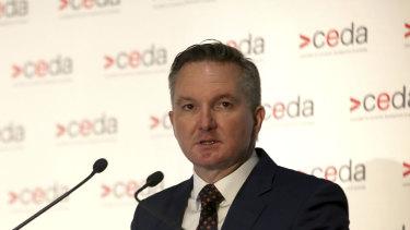 Rethinking Labor's homeloan fees approach: Shadow treasurer Chris Bowen.