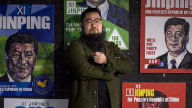 Badiucao, a Chinese dissident artist living in Melbourne, is calling on UWA's Confucius Institute to come good on its promise to allow him to speak to its students.