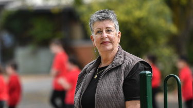 Loretta Piazza, principal of Meadowglen Primary School in Epping.