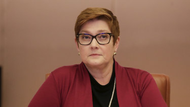 Foreign Minister Marise Payne has offered financial aid to Lebanon.