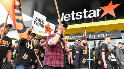 Jetstar cancels a quarter of flights ahead of Wednesday strike action