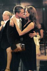 As John Smith (Brad Pitt) and Jane Smith (Angelina Jolie) in Mr and Mrs Smith.
