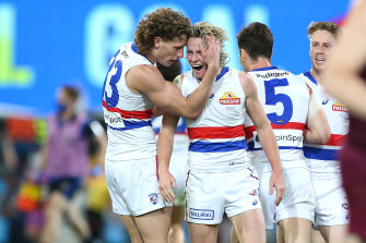 Cody Weightman, right, has been sidelined from this weekend's clash with concussion.
