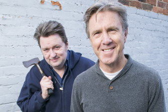 Dave O'Neil and Glenn Robbins were due to be headliners at Canberra Comedy Festival.