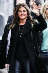 Fabulous at 50 ... '90s icon actress Jennifer Aniston.