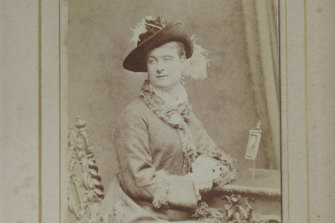 In her later years Madame Brussels appeared a picture of Victorian propriety.