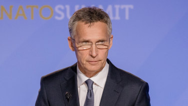 NATO Secretary-General Jens Stoltenberg says the treaty is in danger because of Russia's actions.