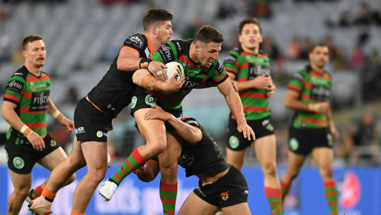 Metres gained: Burgess expects to play in next week's final.