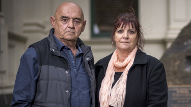 Dave and Janine Brownlee whose son Jack died on a work site last year are supporters of harmonised industrial manslaughter laws.