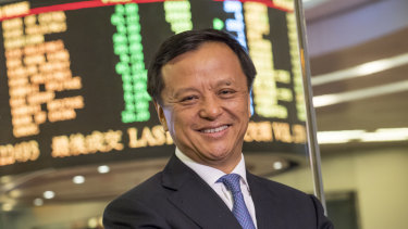 Charles Li, chief executive officer of Hong Kong Exchanges & Clearing.
