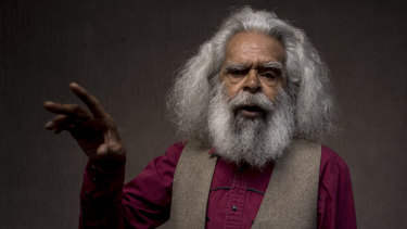 Aboriginal actor, activist and elder Uncle Jack Charles.