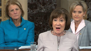 Republican Senator Susan Collins said she had not been convinced that Brett Kavanaugh was the person alleged to have assaulted Christine Blasey Ford in the 1980s.