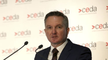 Rethinking Labor's homeloan fees approach: Shadow treasurer Chris Bowen.