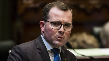 Agriculture Minister Adam Marshall said the law is designed to punish those who break onto people's farms to cause upset and chaos.