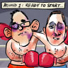 Prepare for punch-drunk politics from roughed-up leaders