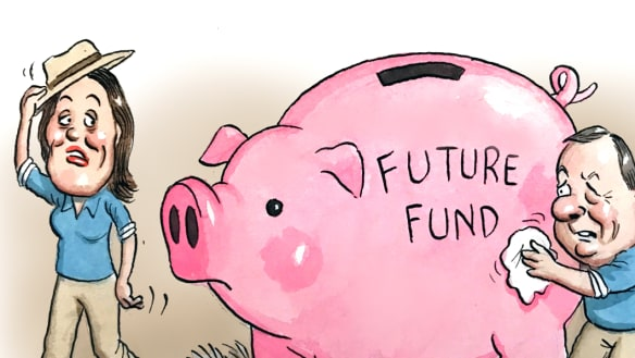 O'Dwyer's Future Fund idea ironically has a history