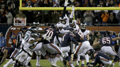 'You can't make this up': Helped by bad bounces, Philadelphia Eagles are still kicking