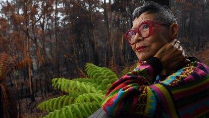 Jenny Kee looks beyond the fear in fire