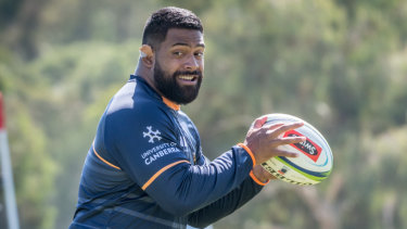 Scott Sio is off contract at the end of 2019. He says he hopes to stay with the Brumbies.