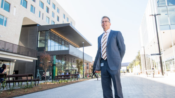 ANU opens huge new precinct in heart of Canberra - with live music