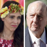 Alan Jones tells Scott Morrison to 'shove a sock down throat' of Jacinda Ardern