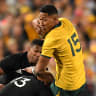 Wallabies' task even tougher as Folau ruled out of Bledisloe No.2
