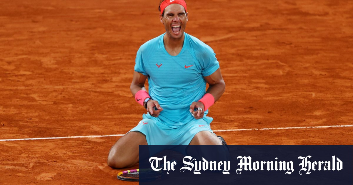 Nadal stuns Djokovic in French Open final to equal Federer's record – Sydney Morning Herald