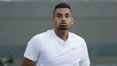 Terrified: Mark Philippoussis has offered a fresh perspective on Nick Kyrgios' troubles.