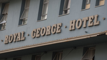 The Royal George Hotel has been fined.