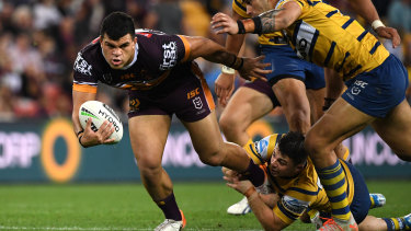 David Fifita could not be stopped against the Eels.