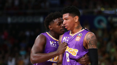 Kings co-owner Paul Kind said Griffin came to Sydney to see how the Brazillian was tracking under the Kings, with the 20-year-old looking likely to join the Pelicans' roster in the next two years.