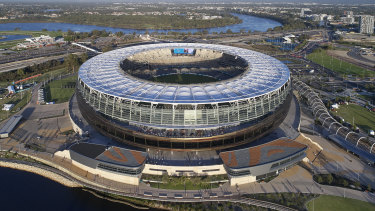 Even after the footy season has finished, Optus Stadium will be a hive of activity this weekend.