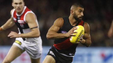 Creative force: Adam Saad had the most running bounces in the league last year.